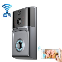 Smart WiFi video doorbell for smartphones tablets, wireless video door phone, IP Wi-Fi camera