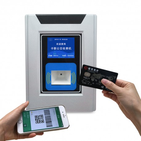 4G Bus validator with QR Code Scanner support RFID and barcode