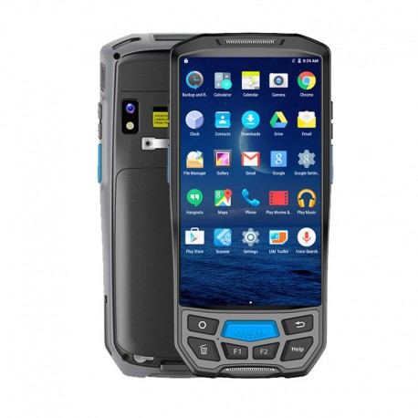 Portable Android pda Bluetooth 1D 2D barcode scanner + Handheld