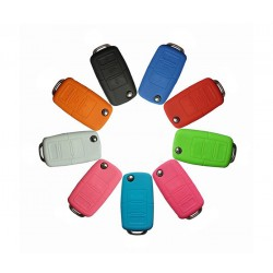 Customized Pantone color business promotion gift silicone car key cover